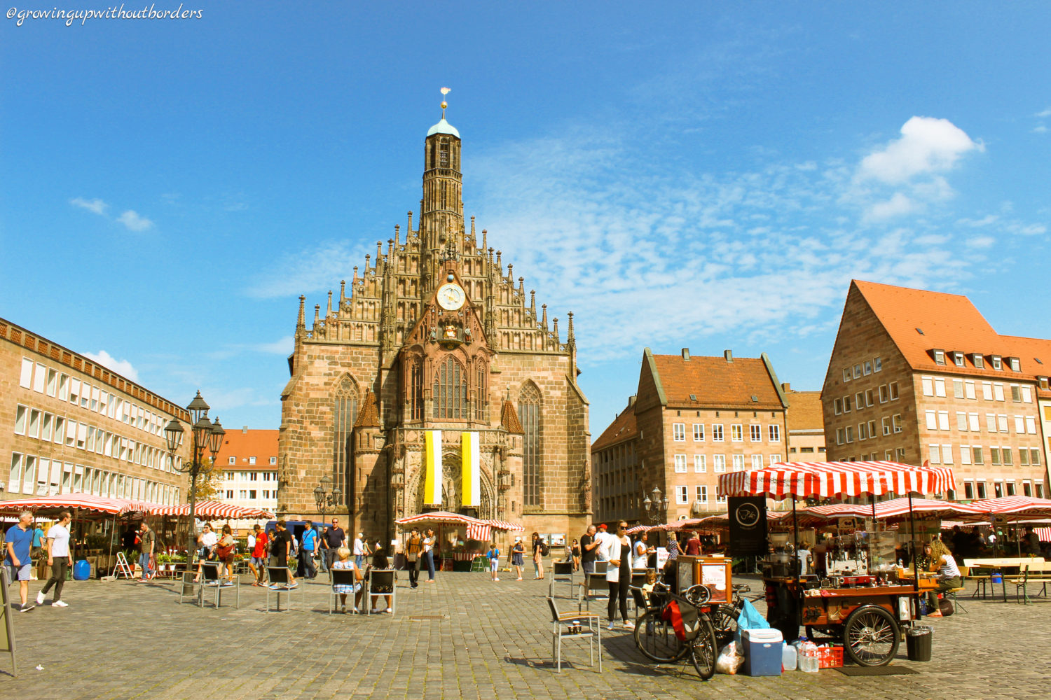 Nuremberg, Church, Germany, Frauenkirche