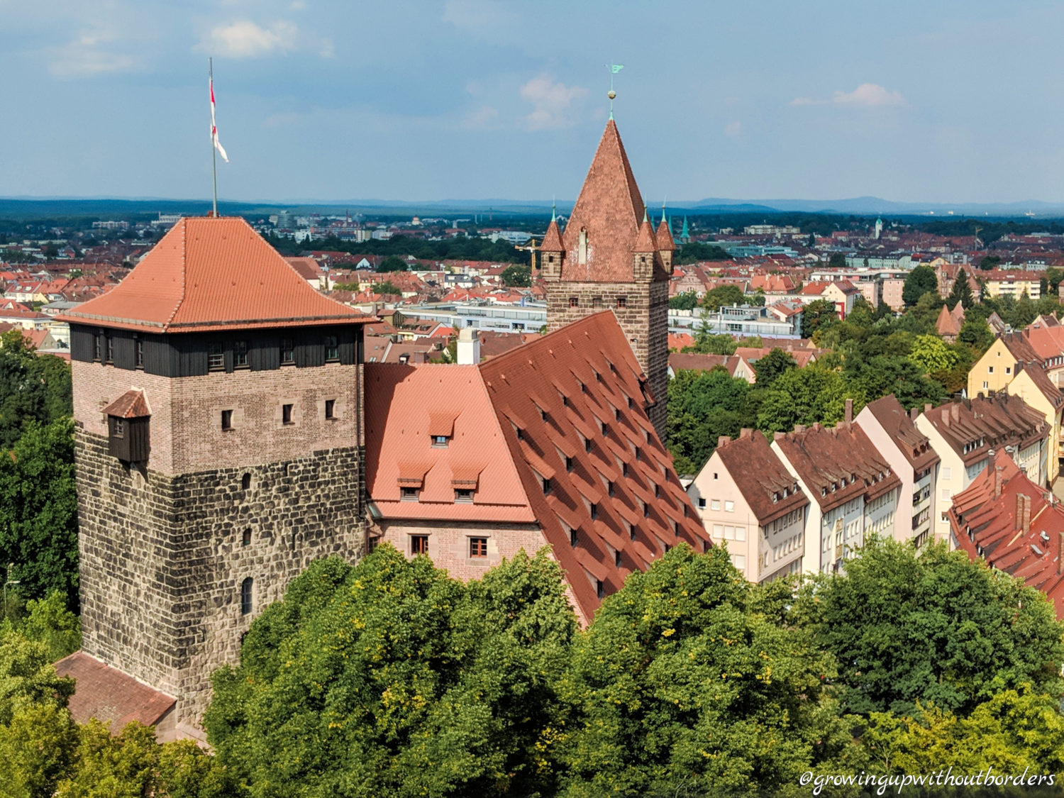 Nuremberg, castle, Germany, Nürnberger Burg