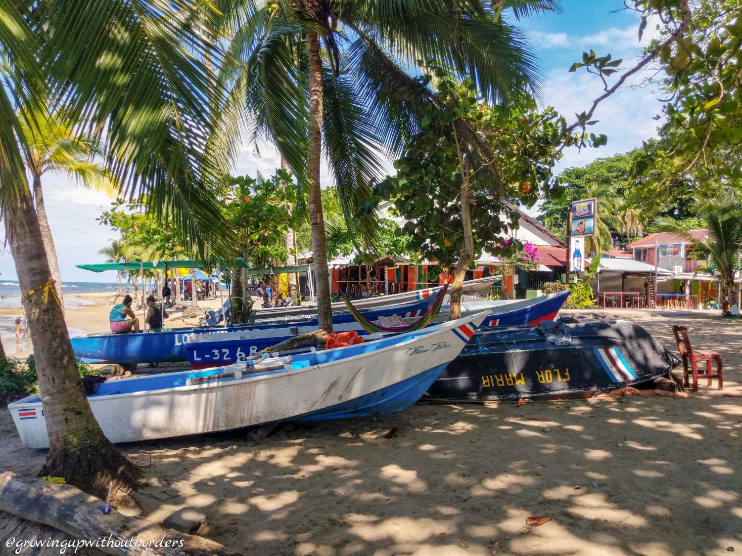 Costa Rica, boat, beach